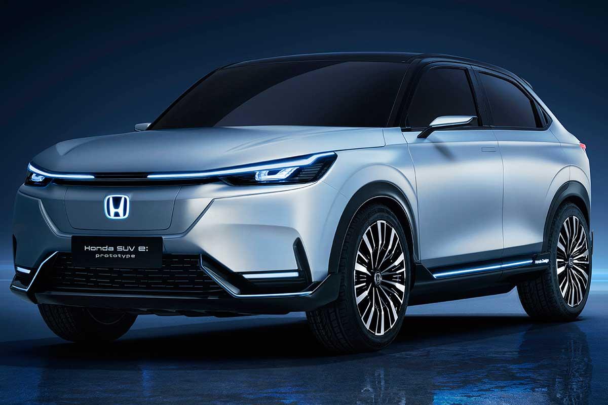 Honda mostró fotos del prototipo de su primer SUV eléctrico