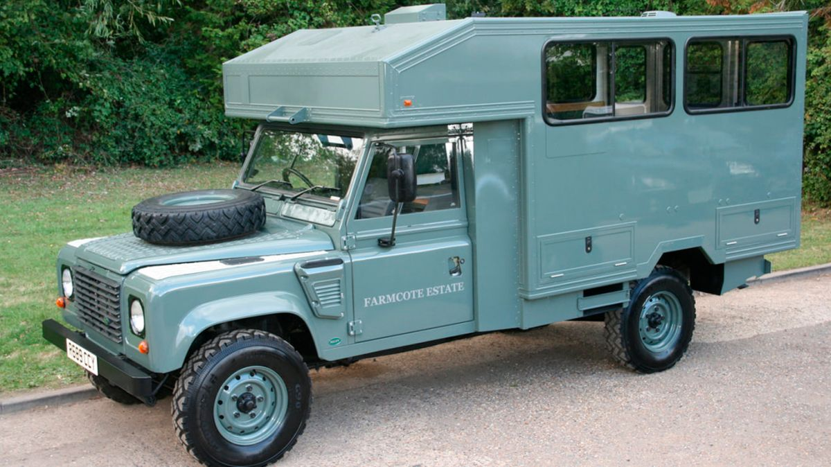 Así será el Land Rover en el que viajará el cuerpo del principe Felipe en su funeral