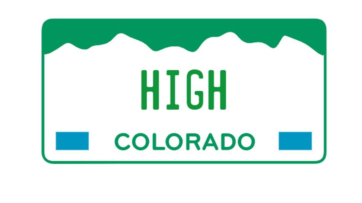 Colorado vende placas temáticas de marihuana por miles de dólares en una subasta