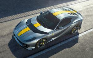 Ferrari presentó el 812 Competizione, el superdeportivo de edición limitada derivado del 812 Superfast