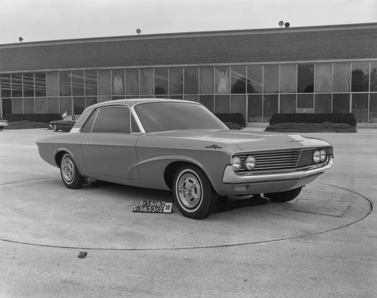 Foto del prototipo del Special Falcon creado por el Estudio de Productos Avanzados de Ford.