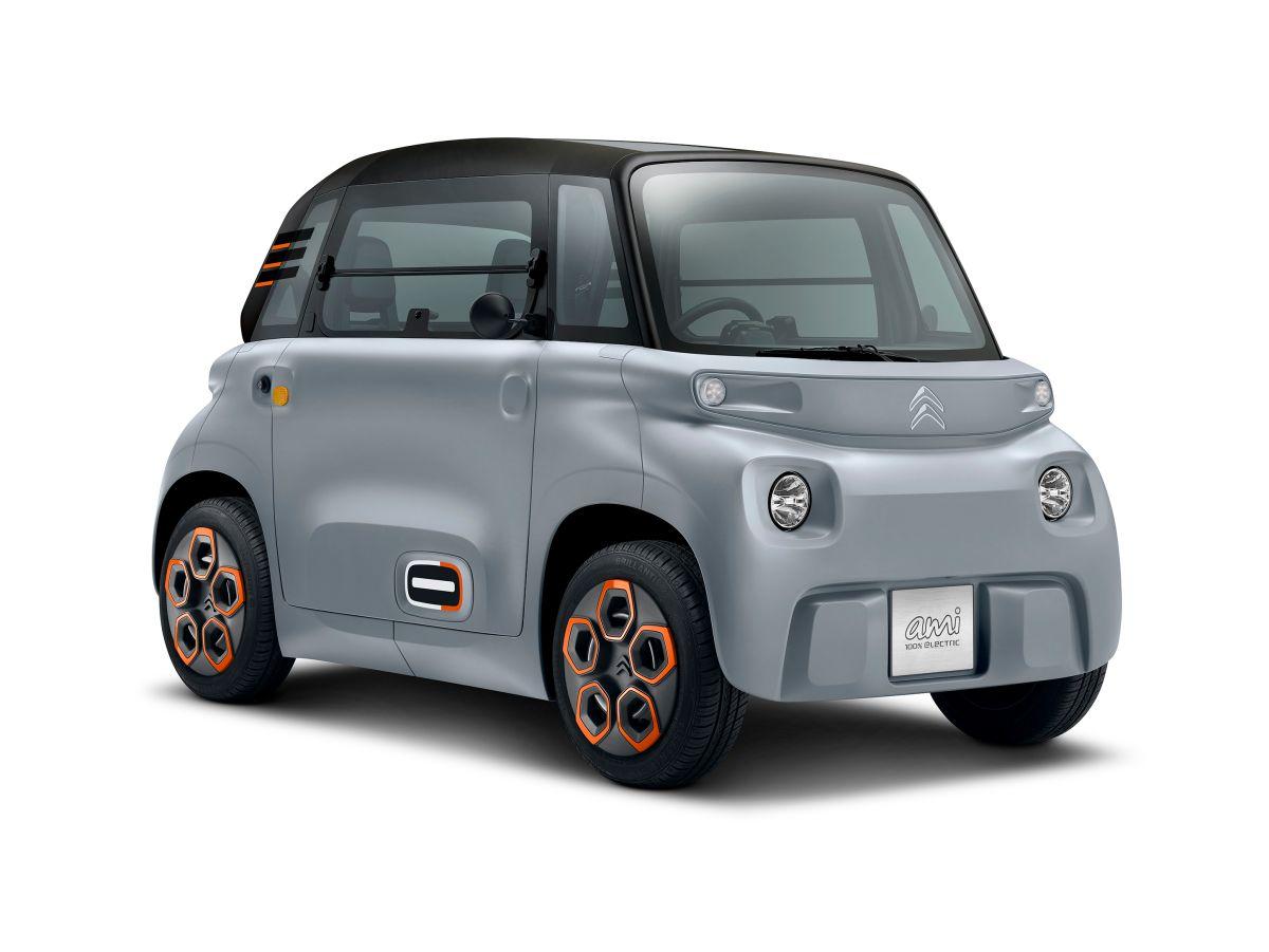Foto producto del Citroën Ami eléctrico