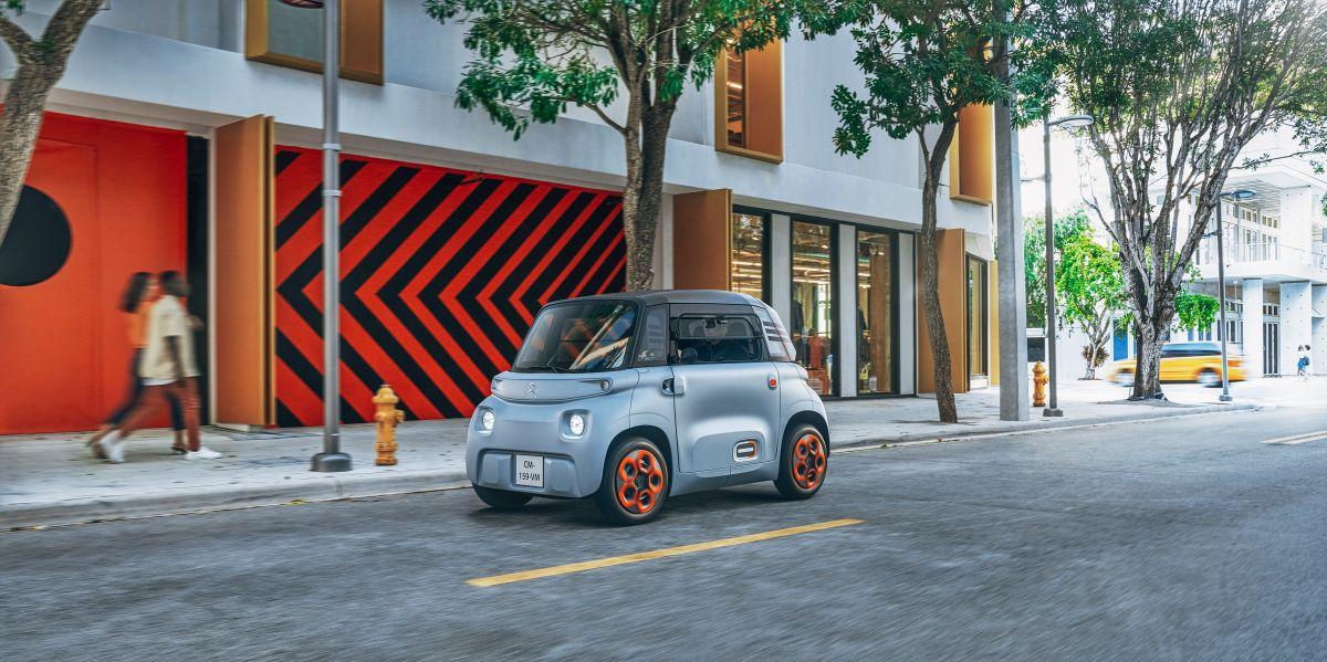 El Ami de Citroën planea llegar a Estados Unidos de la mano de la empresa de alquiler de autos Free2Move