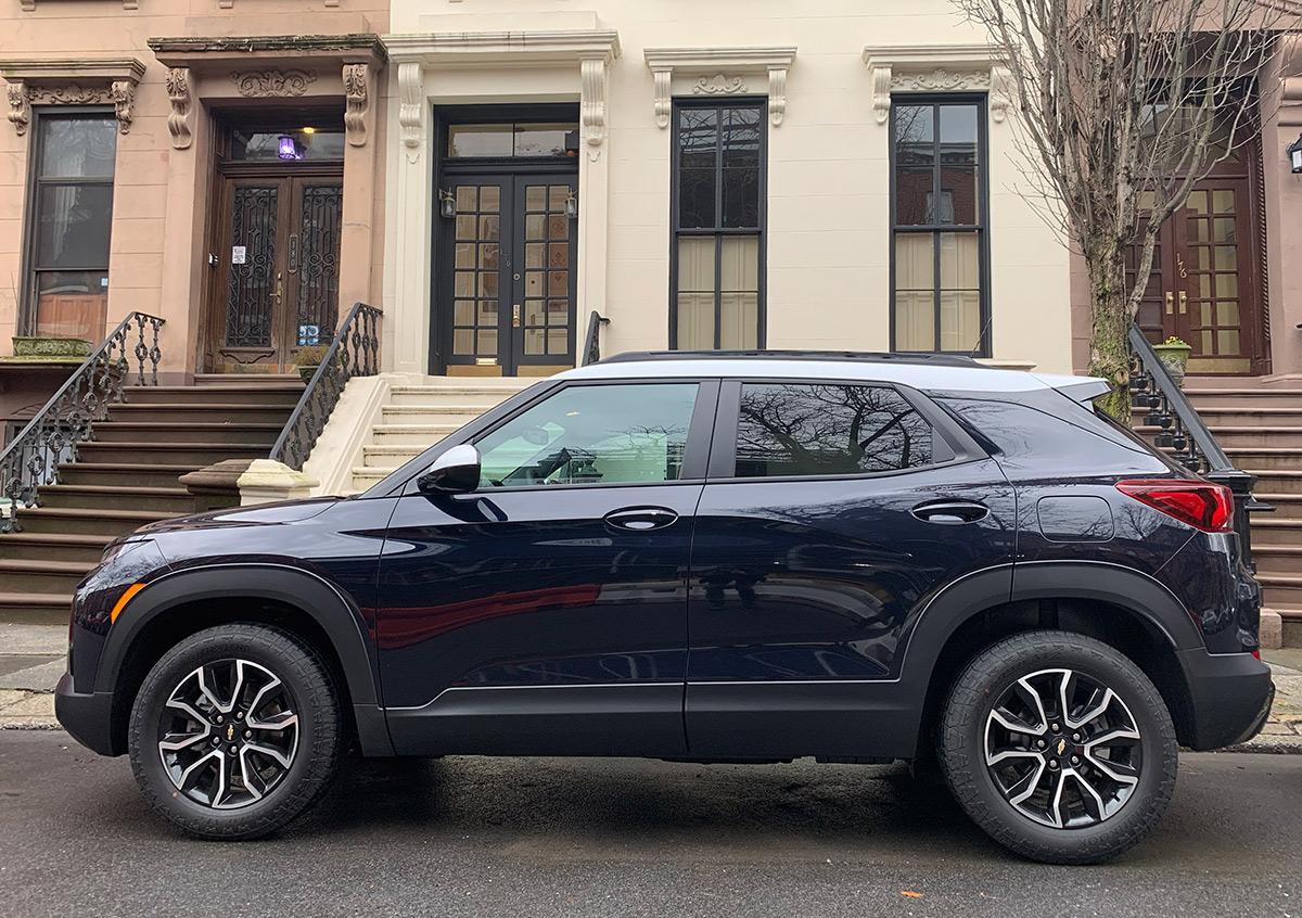 Chevrolet Trailblazer ACTIV 2021: el SUV pequeño más juvenil de Chevy