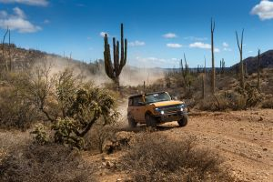 Ford Bronco logró un tercer lugar en el rally NORRA Mexican 1000 en Baja California