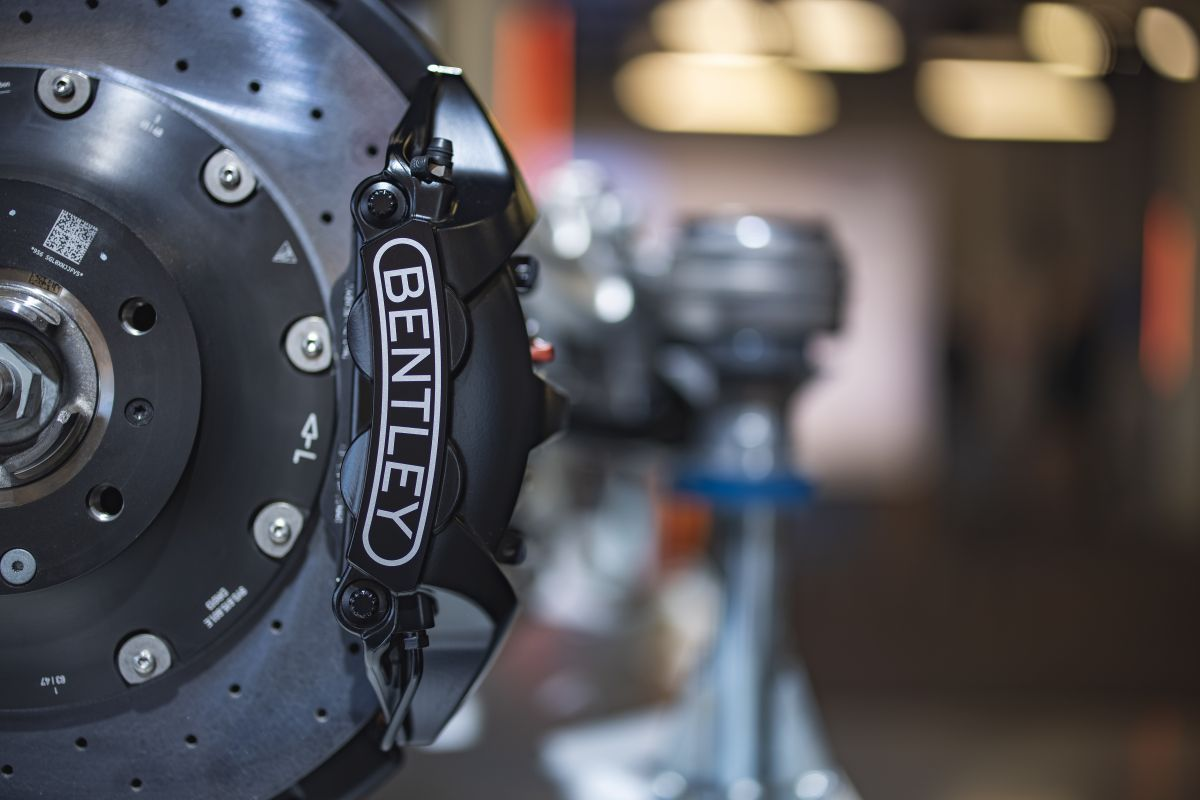 Detalle del chasis del Continental GT Speed Coupé