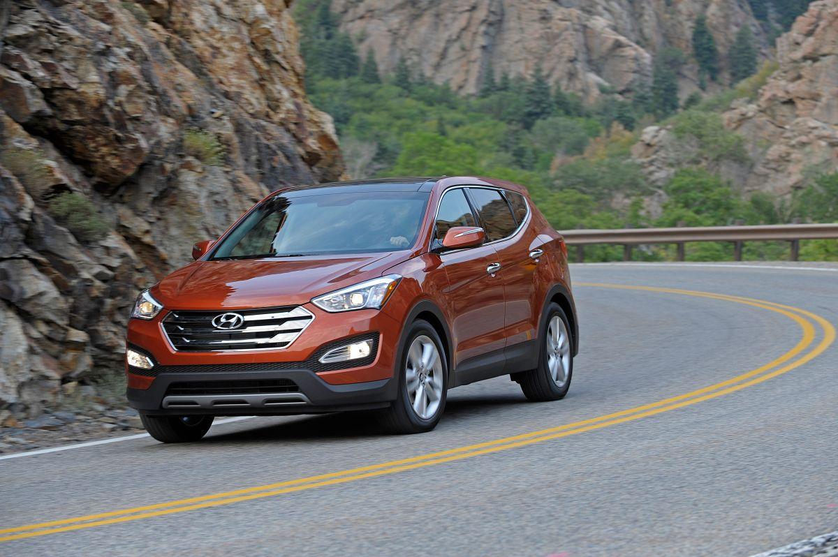 Foto de la Santa Fe 2013 de Hyundai