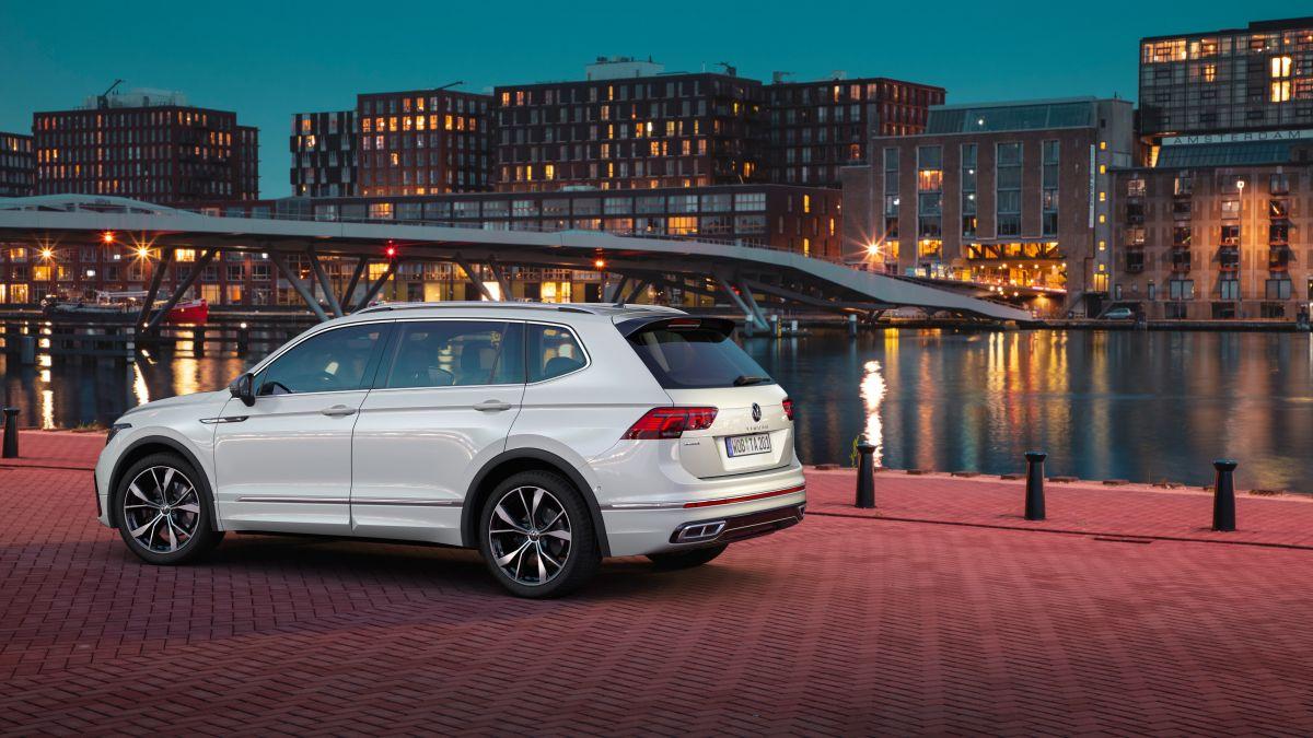 El nuevo Volkswagen Tiguan Allspace ya fue revelado con una actualización tecnológica integral
