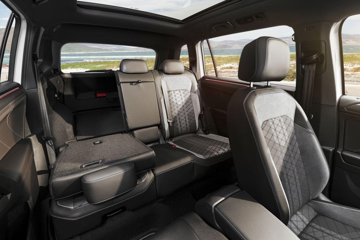 Foto de la cabina interior del nuevo Tiguan Allspace de Volkswagen
