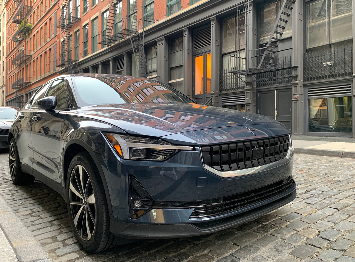 Polestar 2: el auto eléctrico que compite con el Tesla Model 3