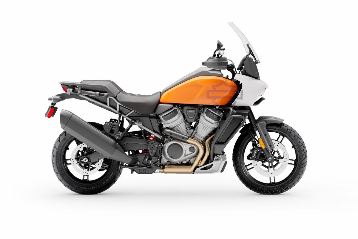 Foto producto de la nueva Pan America de Harley-Davidson
