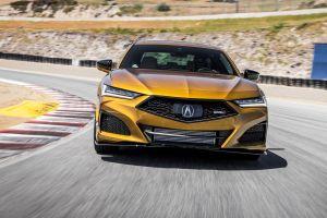 Acura presenta el TLX Type S 2021 durante el Acura Sports Car Challenge en Ohio