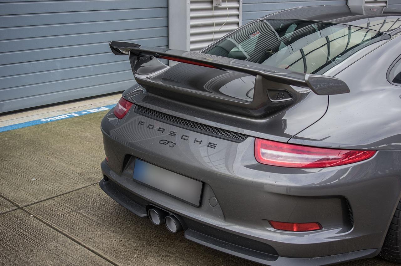 Porsche GT3. / Foto: Pixabay.