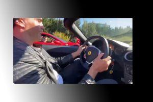 Se filmaron corriendo picadas con su Ferrari y ahora les van a suspender las licencias de conducir