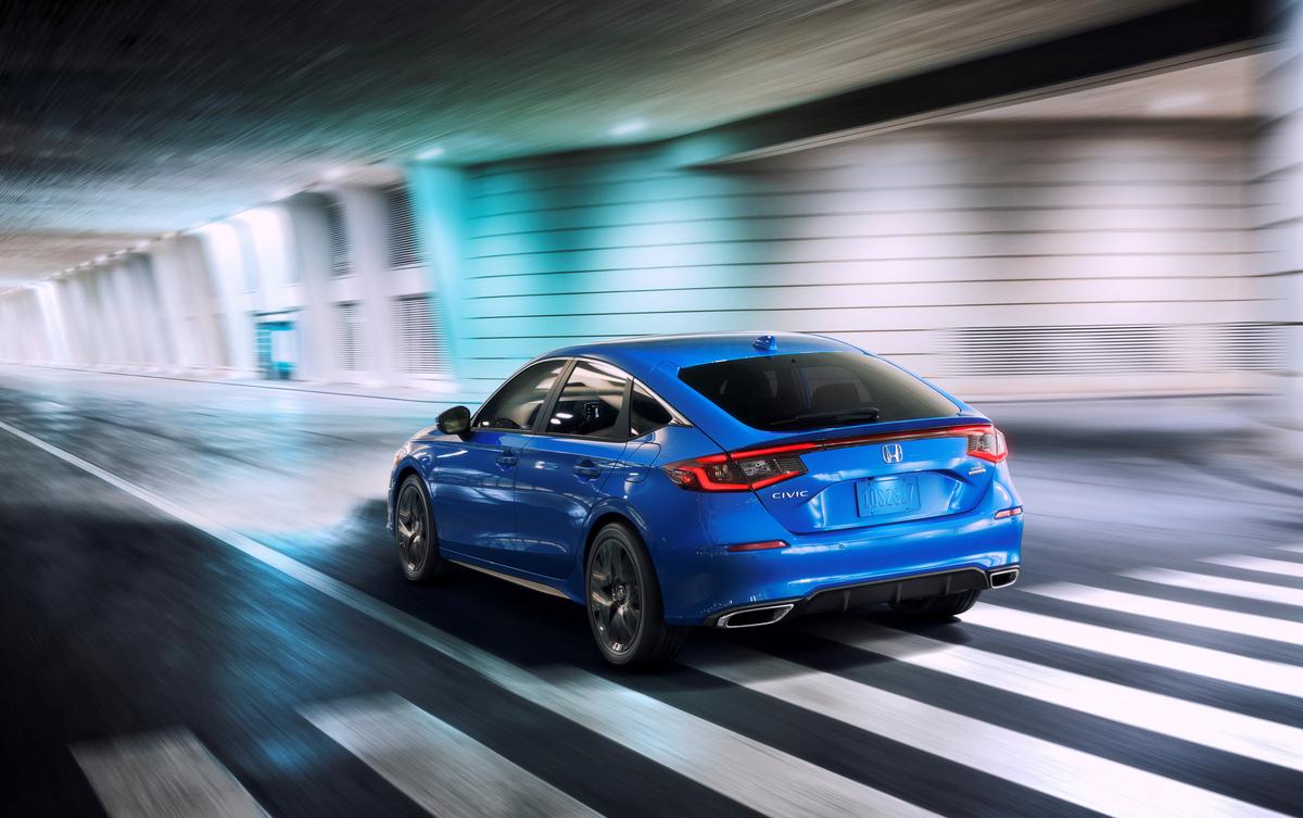 El nuevo Honda Civic Hatchback 2022 cuenta con dos tipos de motor, uno de ellos es turbo.