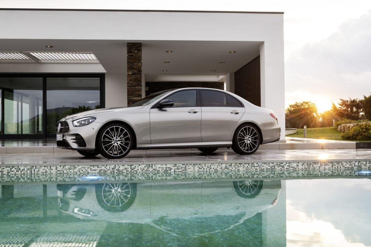El Mercedes-Benz E-Class 2021 recibe el premio de seguridad más alto del IIHS