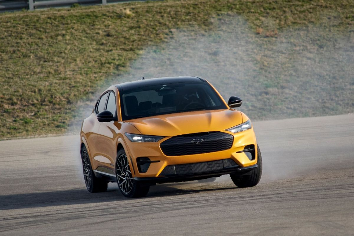 El Mustang Mach-E GT superó el alcance de millas que Ford había anunciado inicialmente