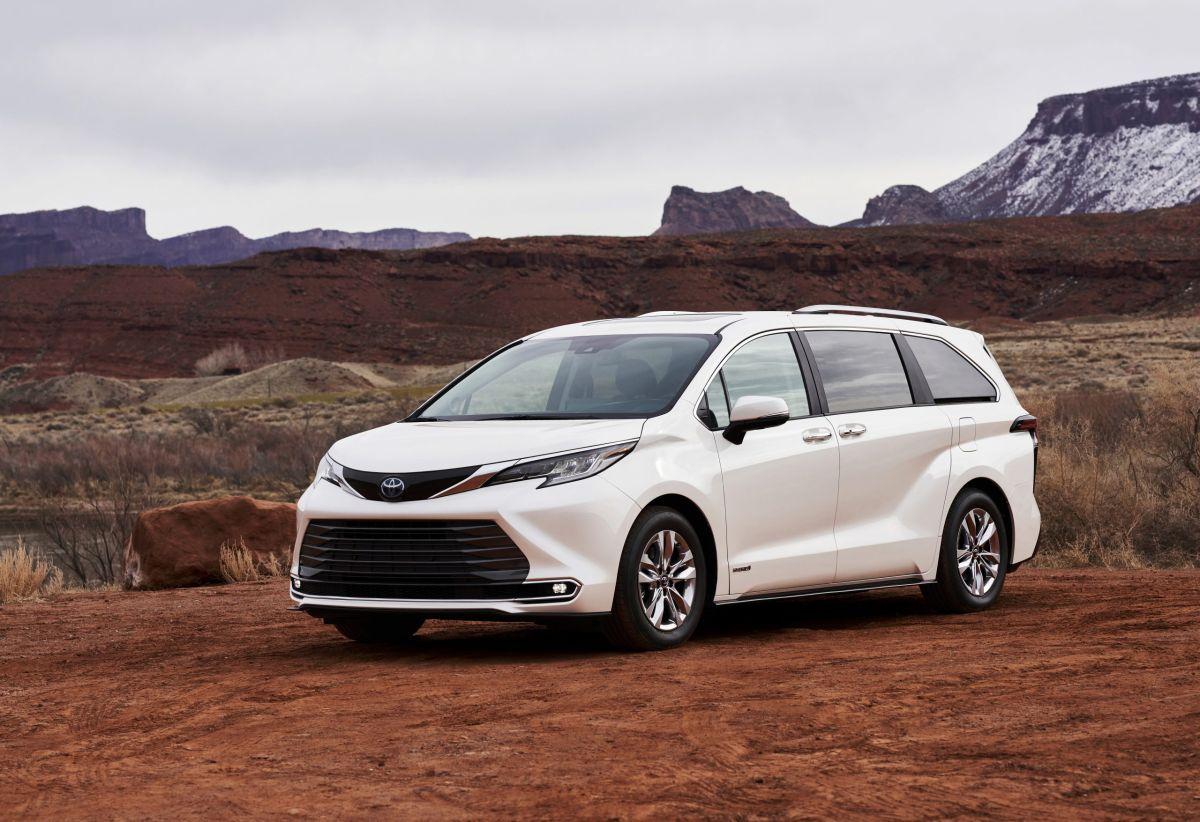 El Toyota Sienna 2021 es ideal para familias numerosas. / Foto: Cortesía de Toyota.