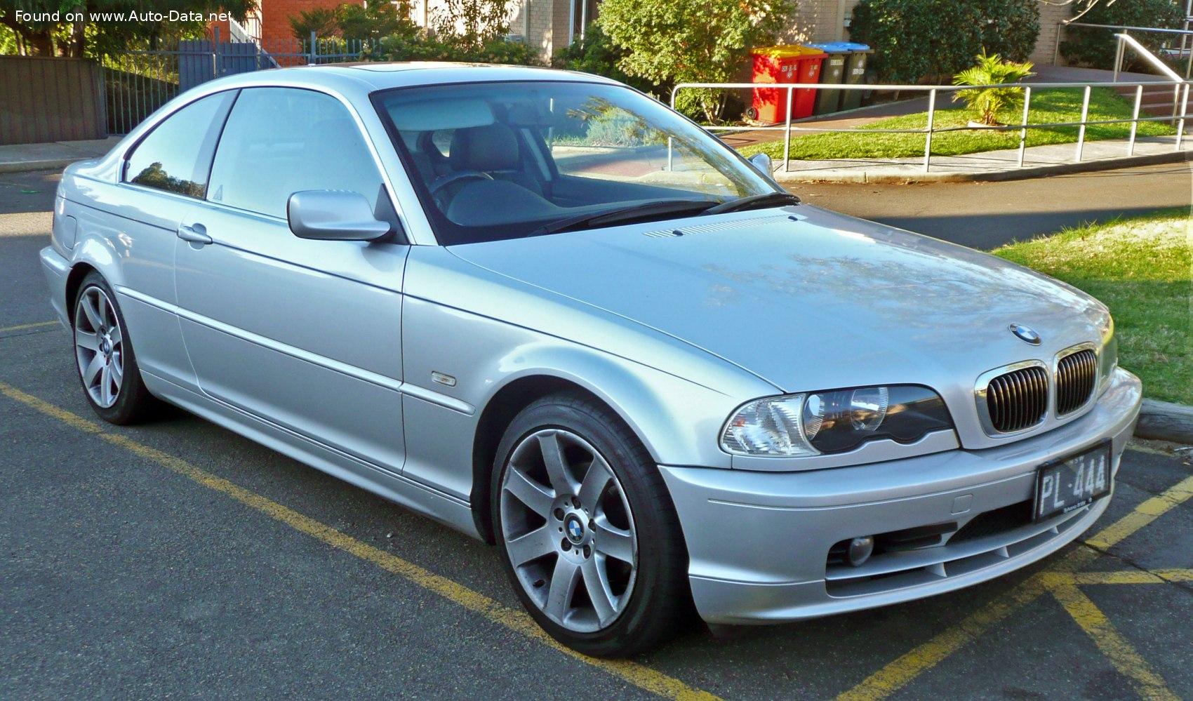 BMW 325Ci 2001. / Foto: Wiki Commons.