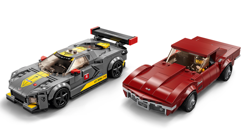 Chevrolet C8 Lego