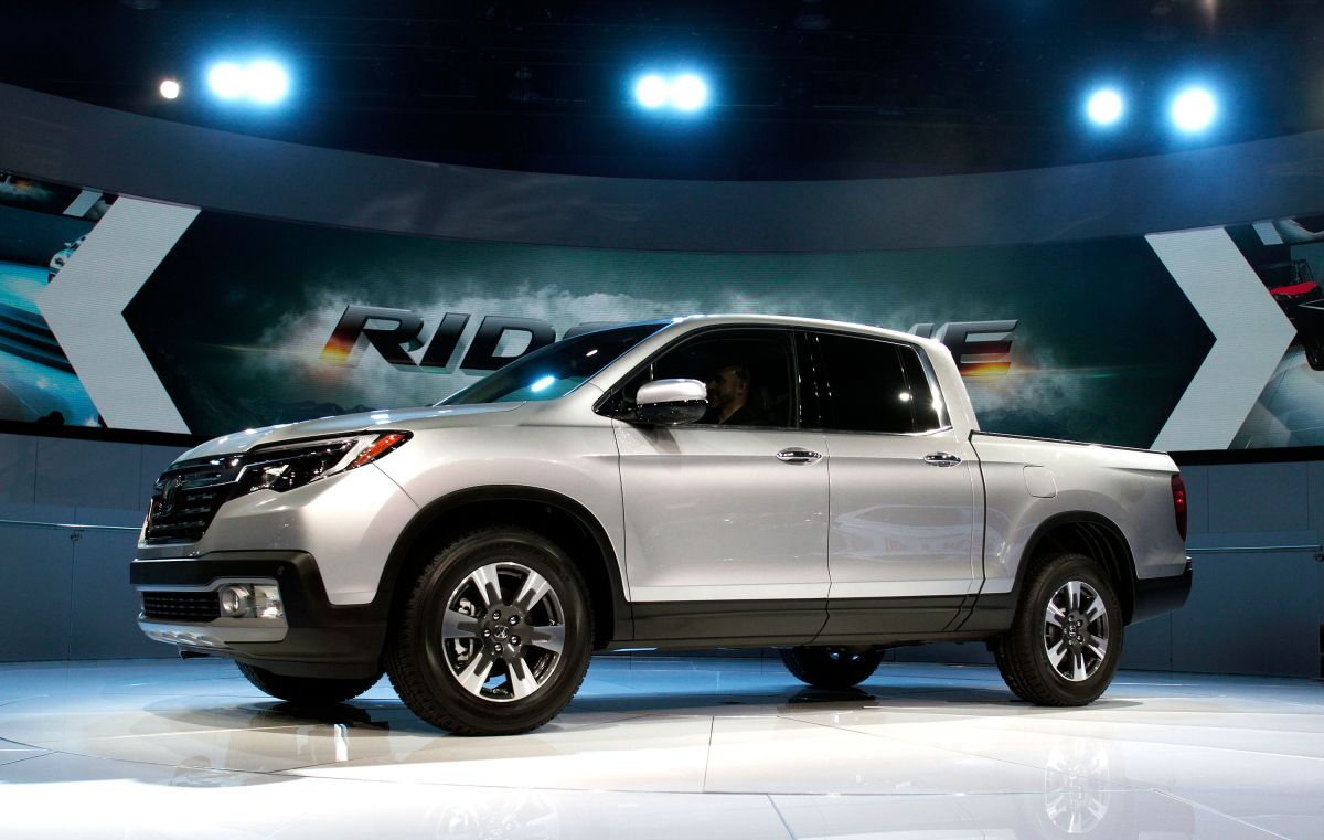 Honda Ridgeline 2016