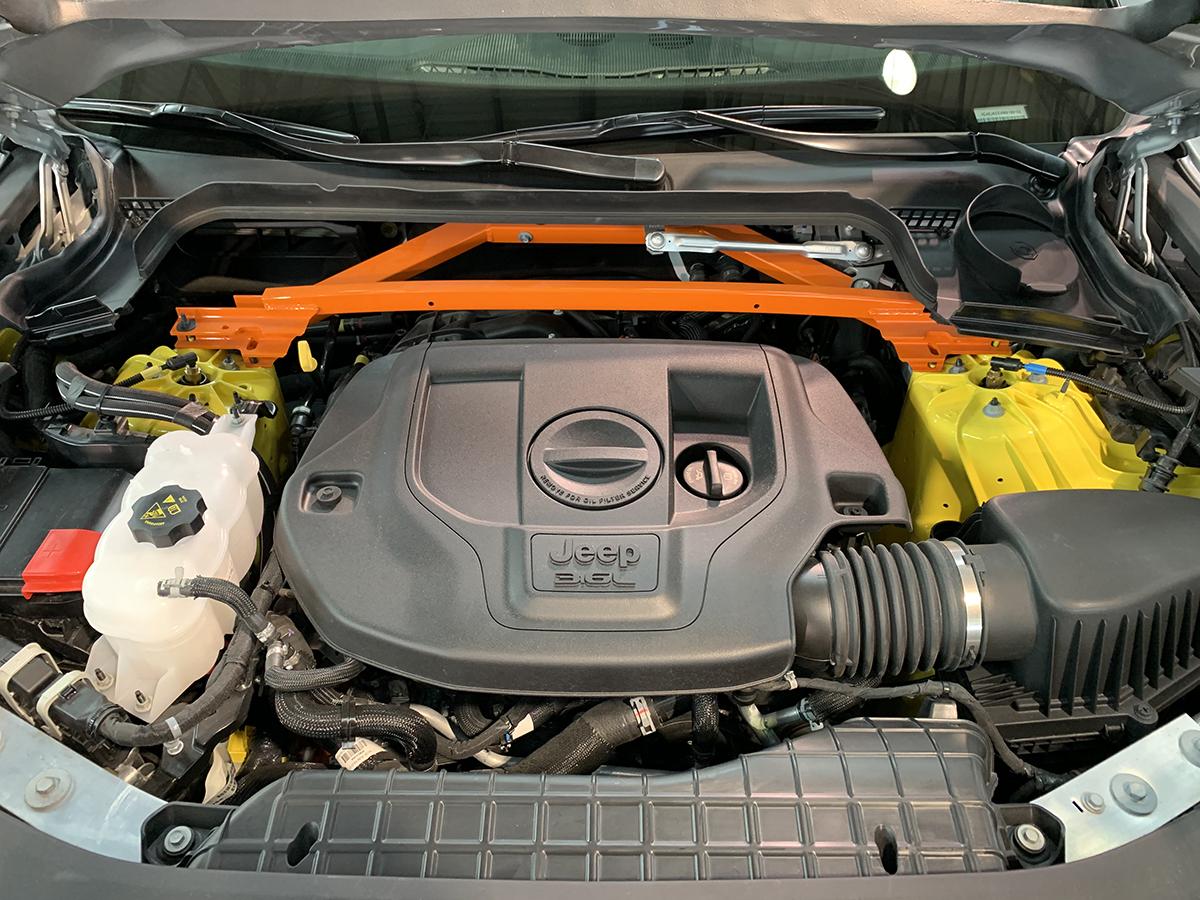 El nuevo Grand Cherokee L se ofrece en dos motores, pero siempre con transmisión automática de 8 velocidades.
