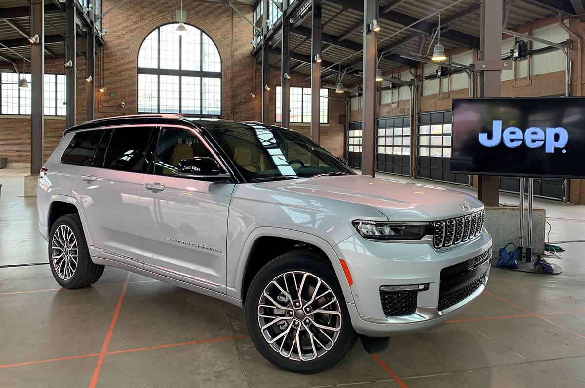 Analizamos el 2021 Jeep Grand Cherokee L de tres filas de asientos