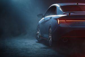 El nuevo Hyundai Elantra N, nuevas fotos acaban de ser reveladas