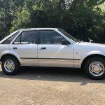 Tras 20 años desaparecido, el Ford Escort de la princesa Diana reaparece a la venta