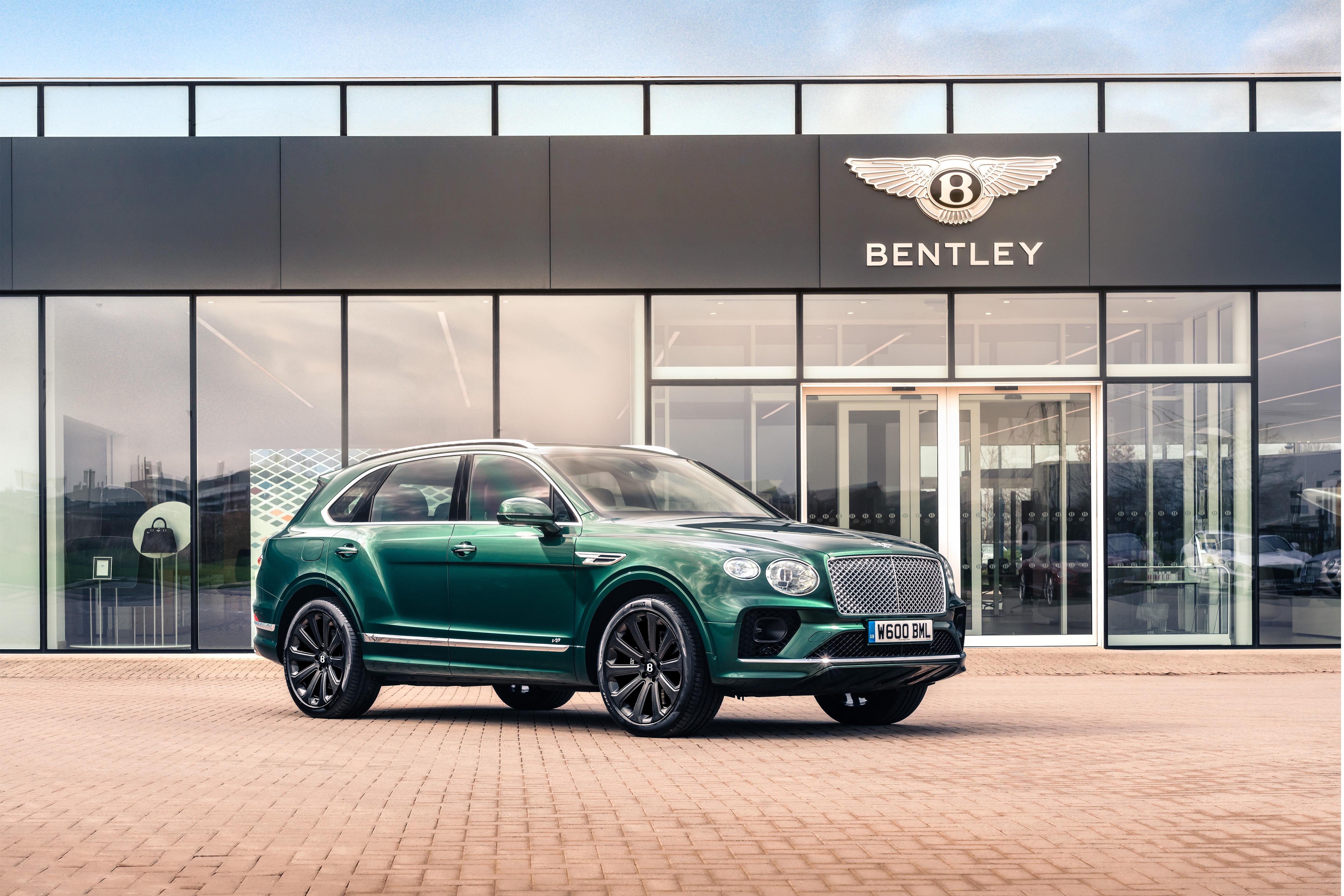 Rueda de carbono Bentley Bentayga