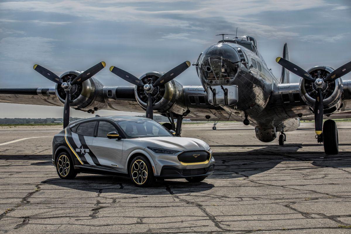 La Mustang Mach-E AirVenture 2021 será subastada para donar las ganancias.