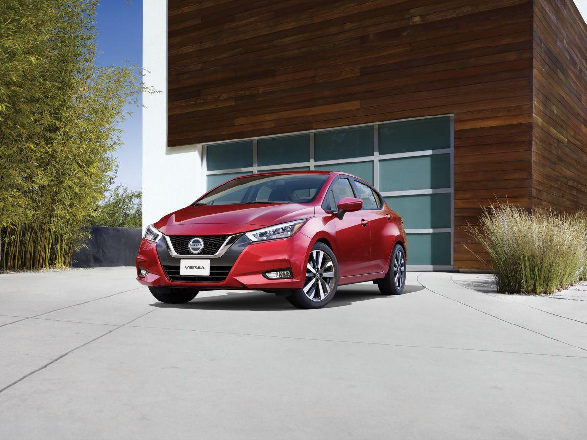 El Nissan Versa S 2021 puede recorrer hasta 378 millas con un motor completamente lleno.