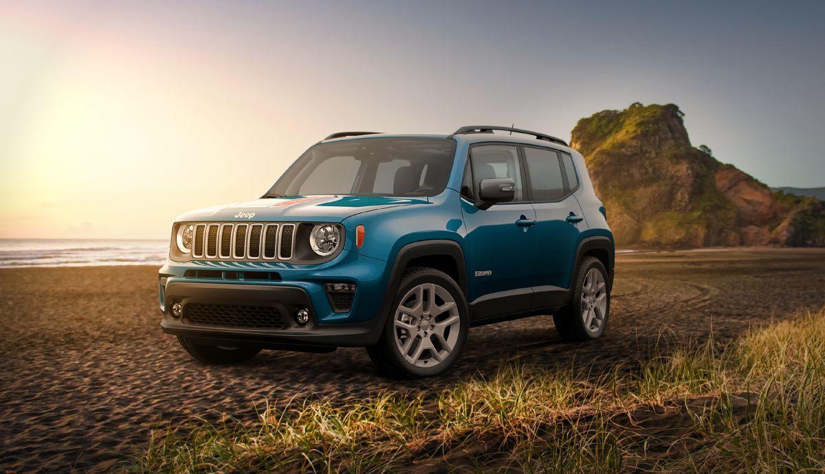 La tracción del Jeep Renegade 2020 está distribuida entre sus 4 ruedas.
