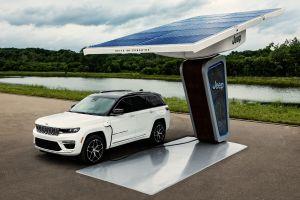 Jeep revela las primeras imágenes del nuevo Grand Cherokee 4xe 2022 eléctrico