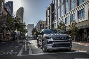 Jeep Compass 2022: nuevo diseño por dentro y por fuera