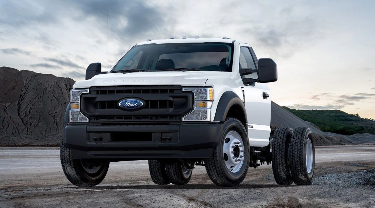 Ford Super Duty 2021. / Foto: Cortesía Ford.