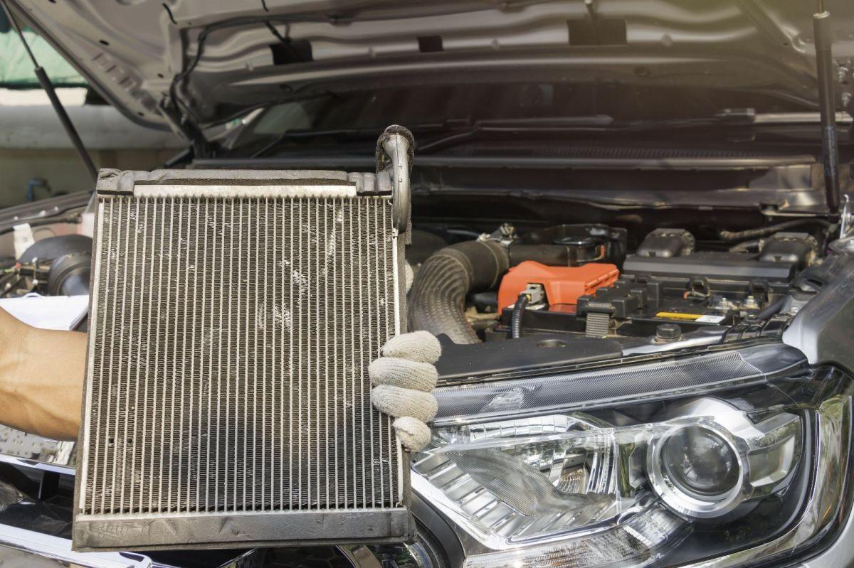 Radiador de auto / Foto: Shutterstock