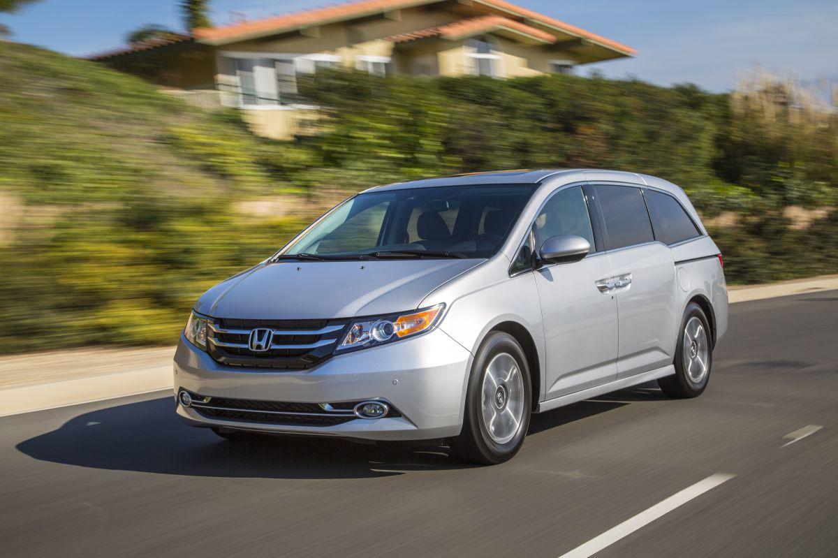 Con un tanque lleno, el Honda Odyssey puede recorrer hasta 588 millas.