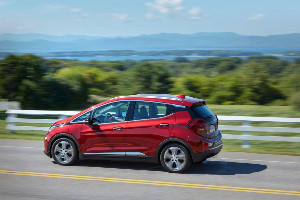Chevrolet Bolt EV 2021. / Foto: Cortesía Chevrolet.