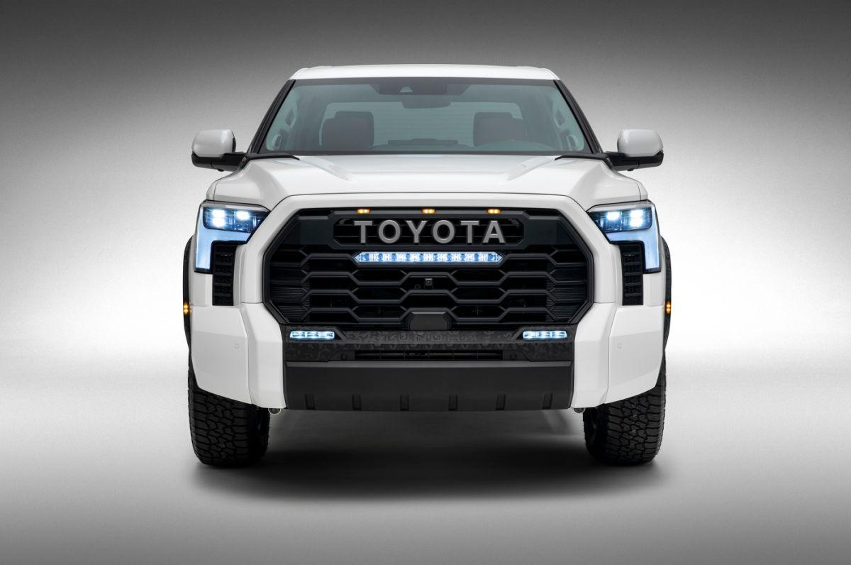 La Toyota Tundra 2022 ahora cuenta con mayor tecnología en su interior. / Foto: Cortesía Toyota.