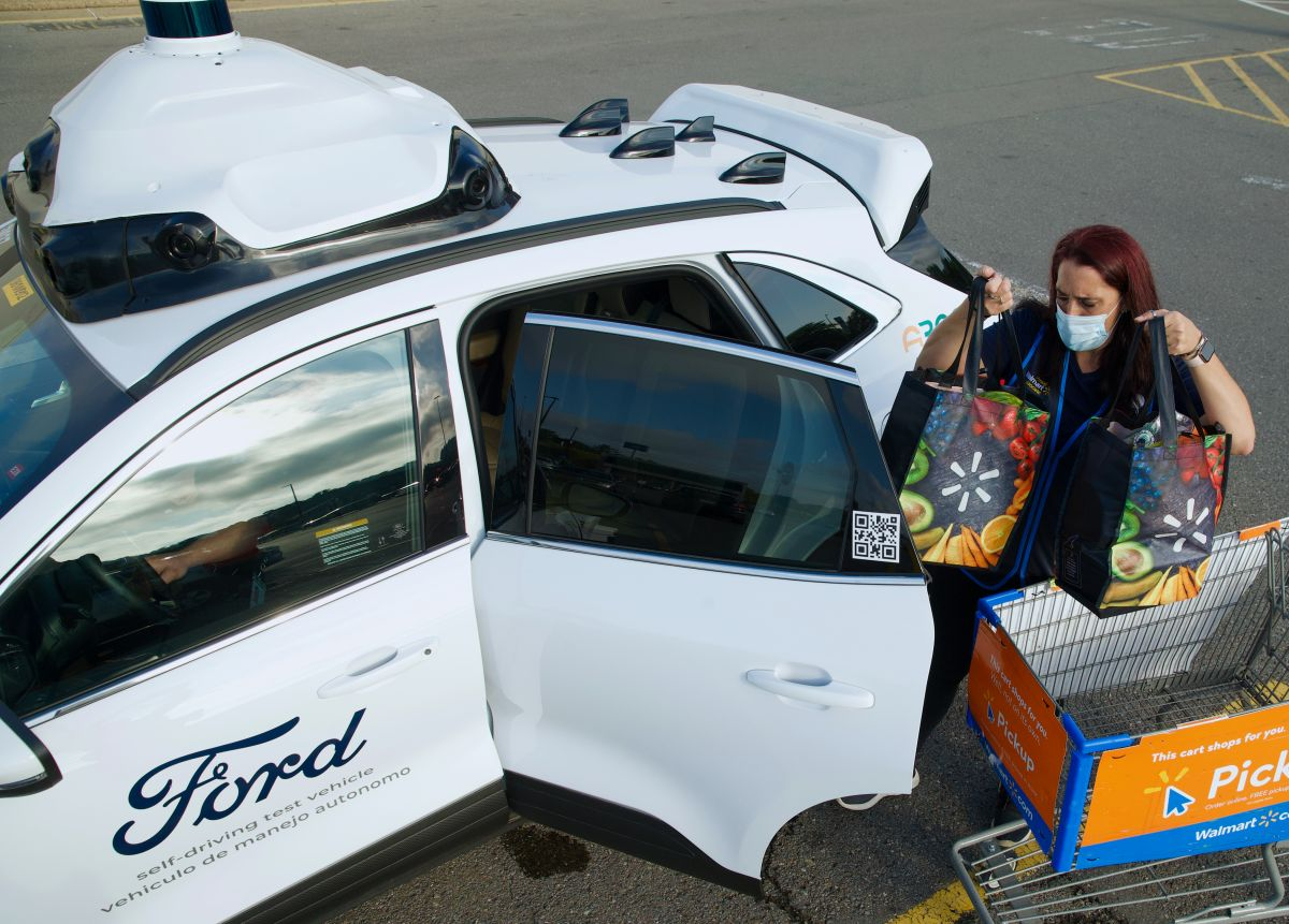 Vehículos autónomos de Ford