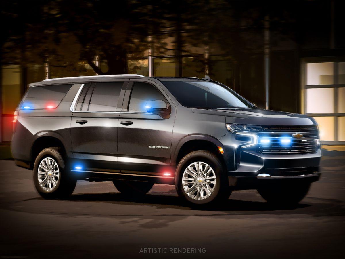 Chevrolet Suburban HD. / Foto: Cortesía GM Defense.
