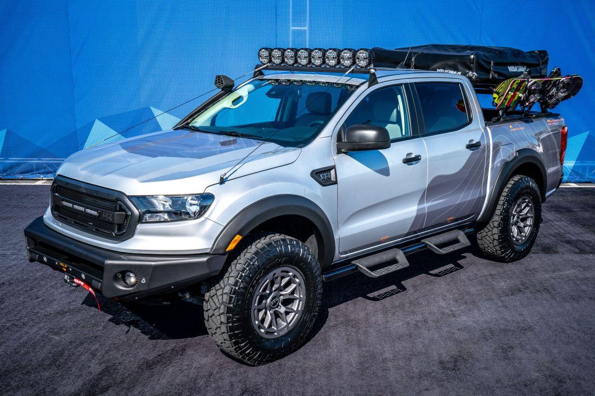 Con un tanque lleno el Ford Ranger 2019 puede recorrer hasta 432 millas.