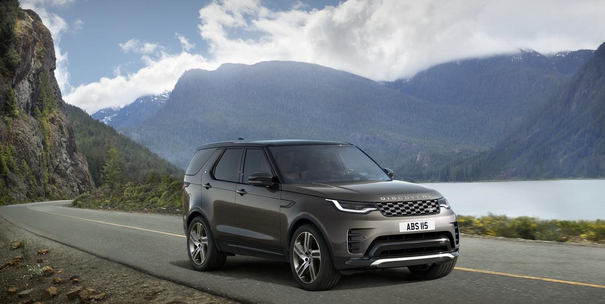 El Land Rover Discovery Metropolitan Edition 2023 ofrece un espacio generoso para hasta siete adultos con un área de carga flexible.