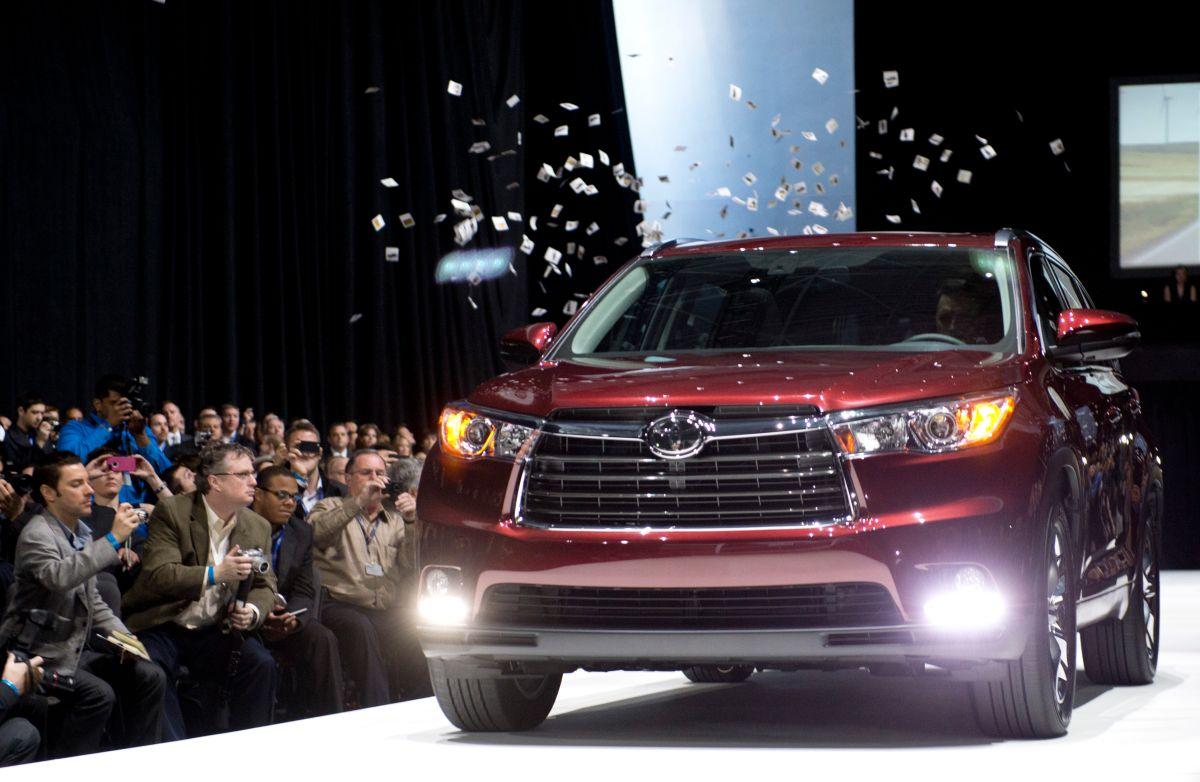 Toyota Highlander Hybrid 2015