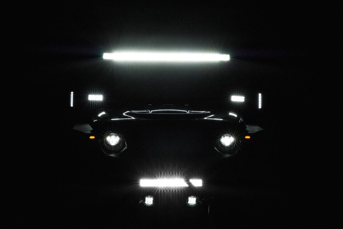 Las barras LED son muy útiles en autos todoterreno